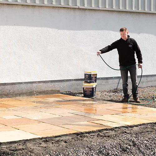 laying pavers with joint it simple