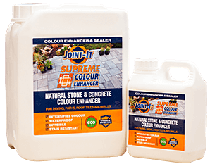 colour enhancing solution for pavers